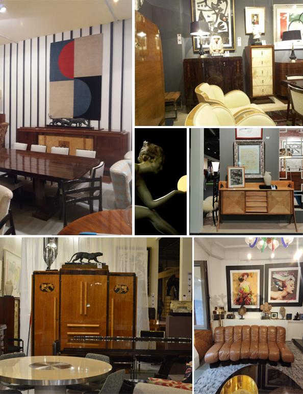 Ulysse Art Decó Antigüedades siglo XX