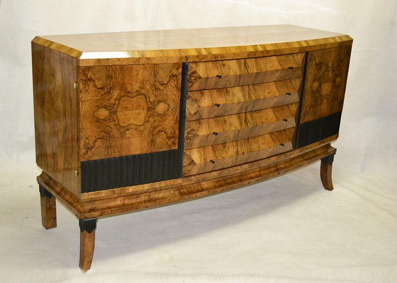 Buffet art deco ulysse art dec anticuarios muebles - Anticuarios madrid muebles ...
