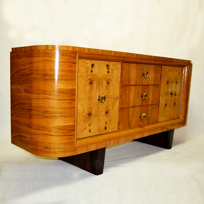 Buffet buffet art deco ulysse art dec anticuarios for Anticuarios madrid muebles