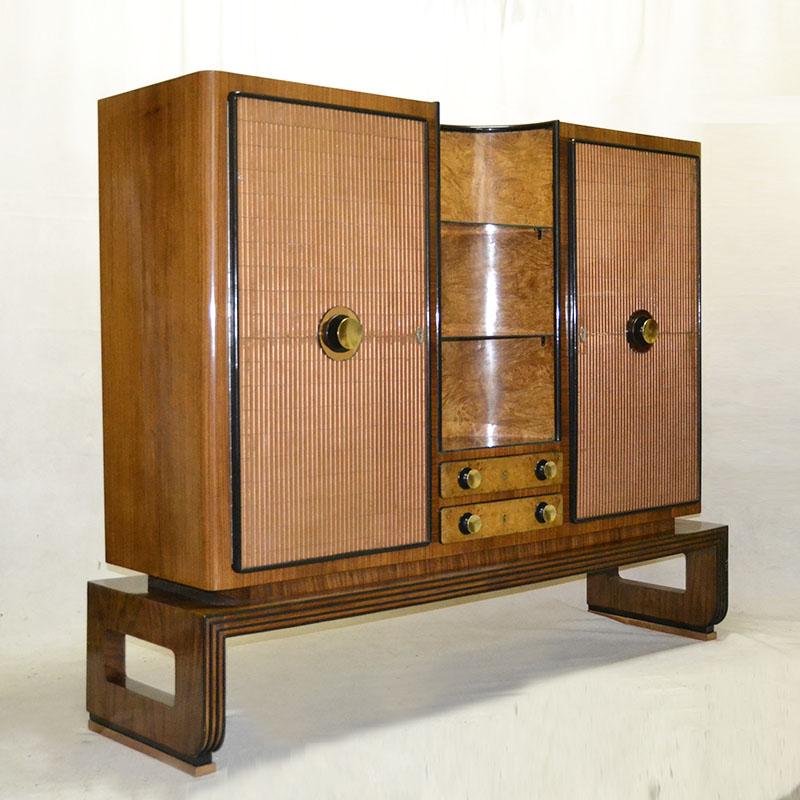 Buffet ulysse art dec anticuarios muebles artdeco for Anticuarios madrid muebles