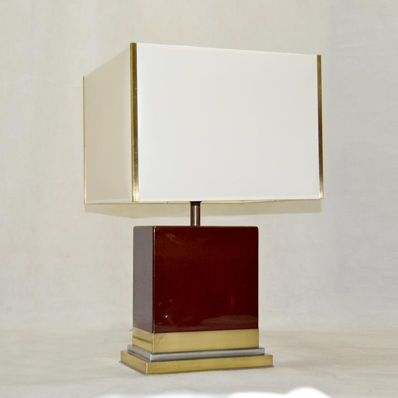 L mp de mesa lampara j c mahey ulysse art dec - Anticuarios madrid muebles ...