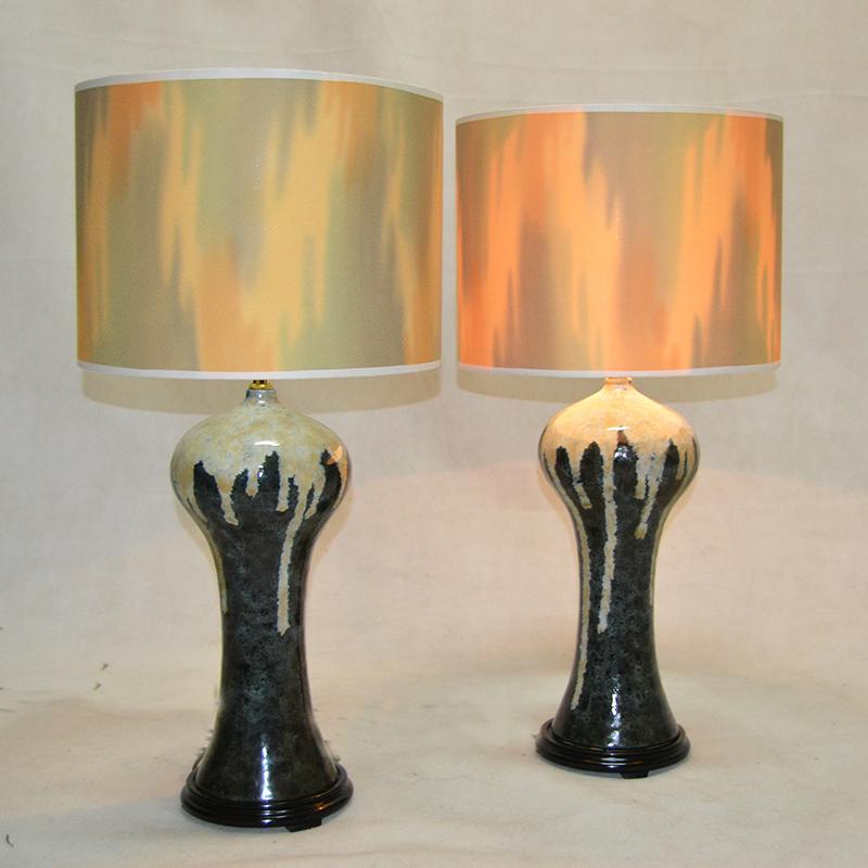 L mp de mesa pareja de lamparas a os 60 ulysse art - Lamparas anos 20 ...