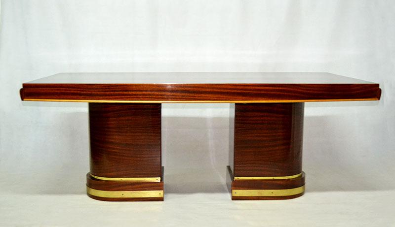 Mesas De Comedor Madrid   Mesa Comedor Art Deco Ulysse Art Deco Anticuarios Muebles