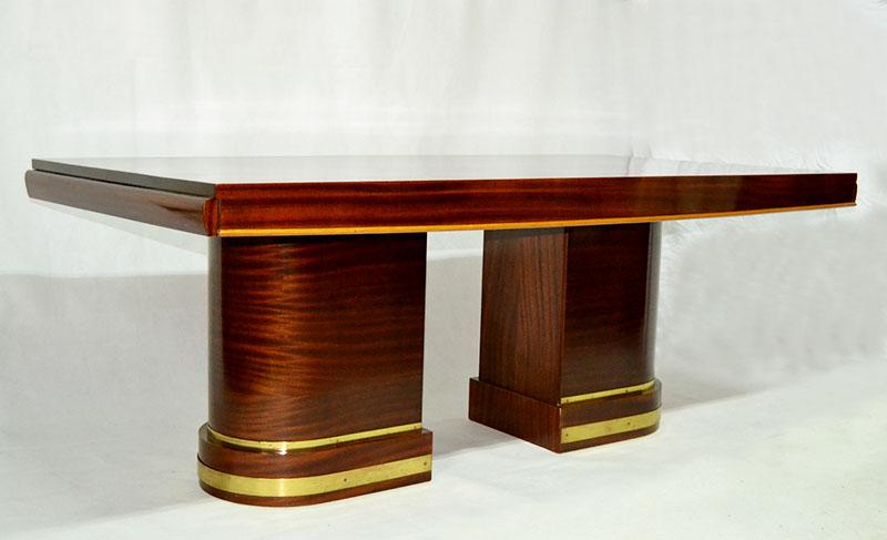 Mesa comedor art deco ulysse art dec anticuarios - Anticuarios madrid muebles ...