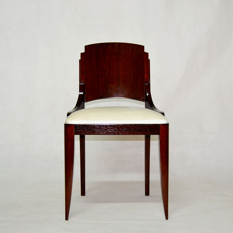 Sillas 6 sillas art deco ulysse art dec anticuarios for Anticuarios madrid muebles