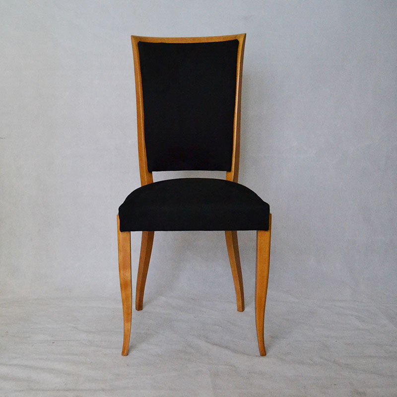 Sillas seis sillas art deco ulysse art dec - Muebles alcantara ...