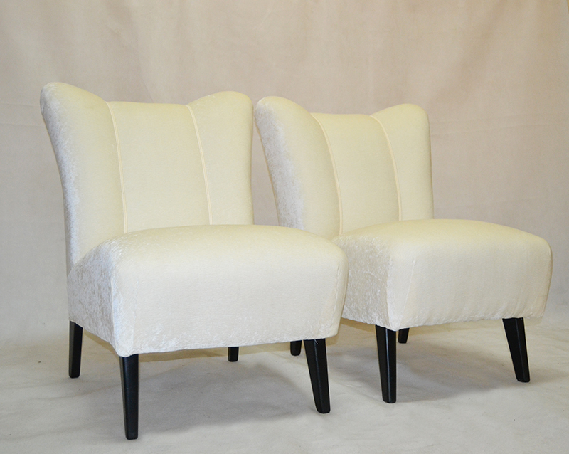 Sillones pareja de sillones ulysse art dec for Anticuarios madrid muebles