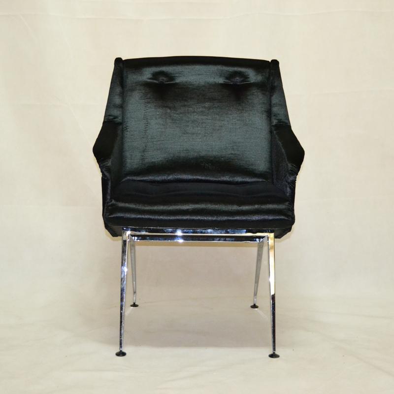 Pareja de sillones francia a os 50 ulysse art dec - Muebles anos 50 madrid ...
