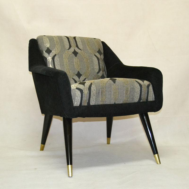 Pareja sillones a os 50 ulysse art dec anticuarios - Muebles anos 50 madrid ...