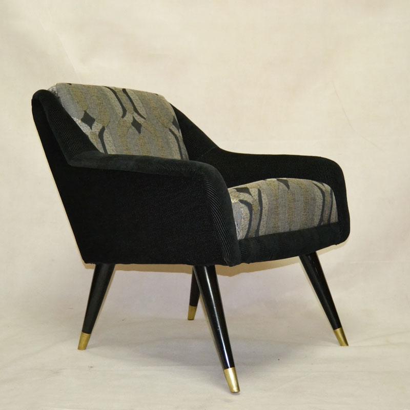 Sillones pareja sillones a os 50 ulysse art dec - Muebles anos 50 madrid ...
