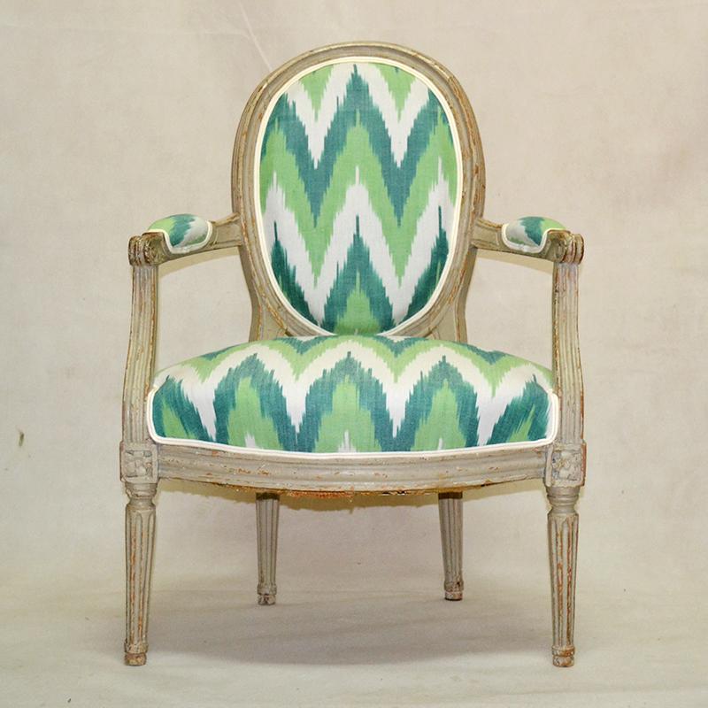 S xviii pareja de sillones louis xvi ulysse art dec - Sillas louis xvi ...